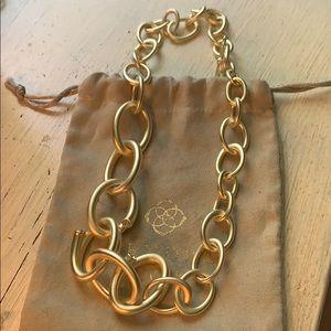 Kendra Scott Walker necklace in gold